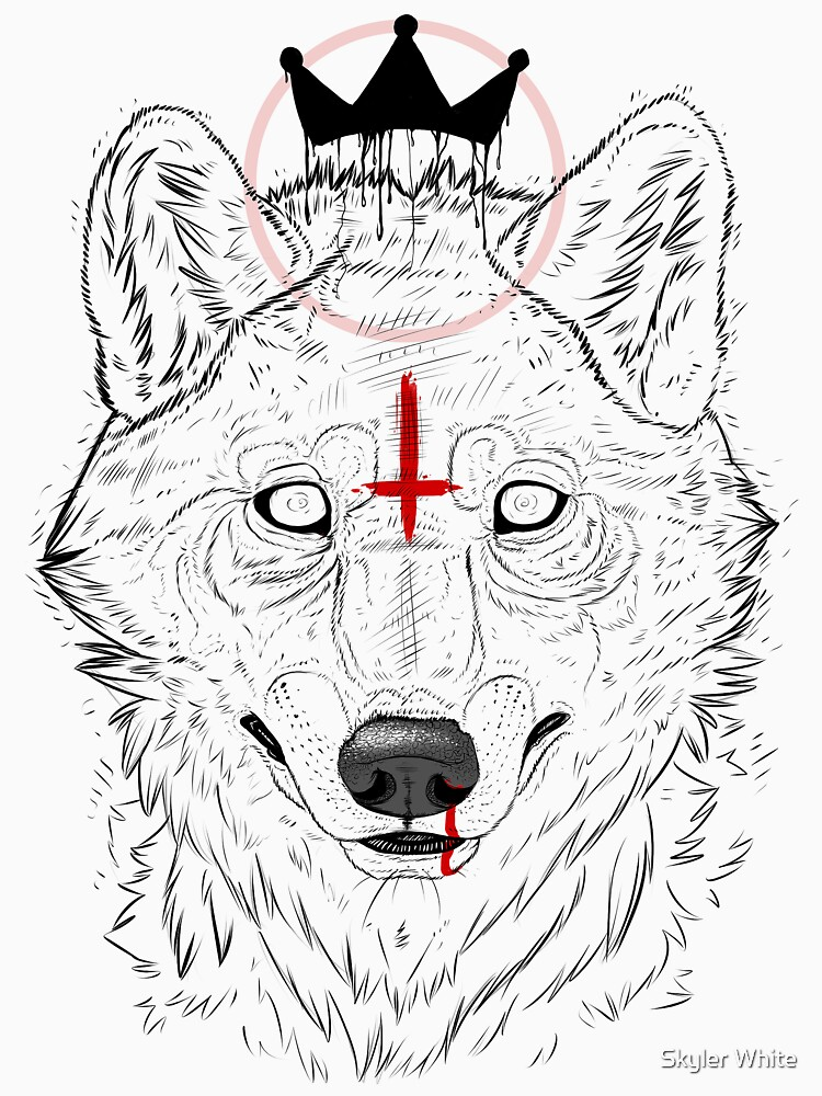 The Wolf King | V-Neck
