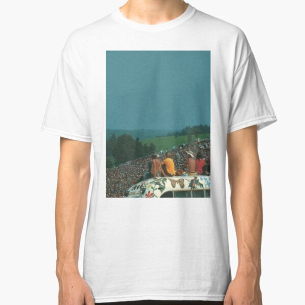 woodstock crowd       Classic T-Shirt