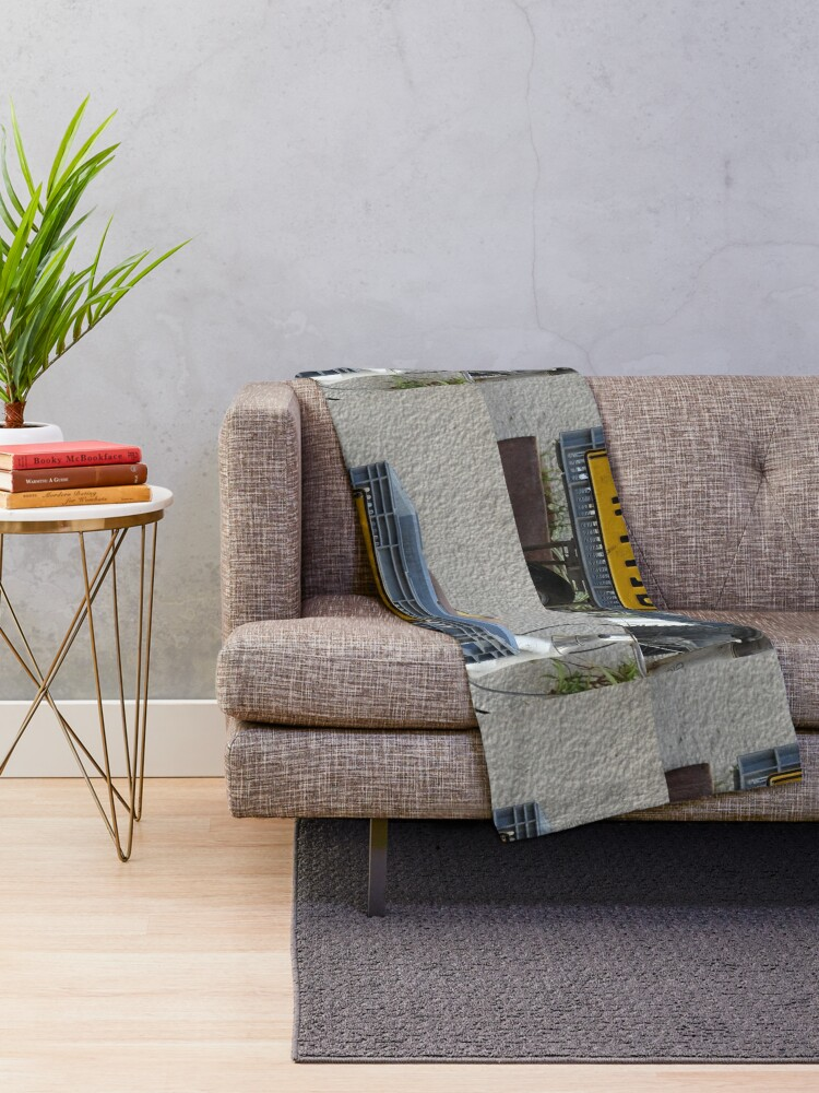 Alternate view of Sandra  Throw Blanket