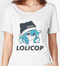 Supreme Lolicop (Aqua / Blue) Relaxed Fit T-Shirt