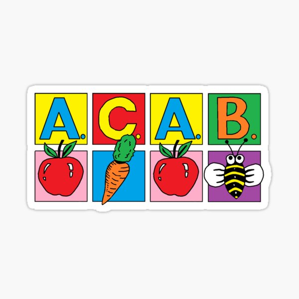 ACAB Kids Sticker