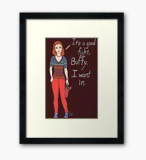 Willow Rosenberg Framed Print