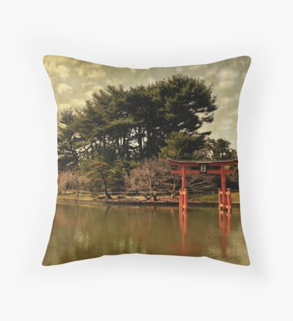 Brooklyn Botanical Garden Throw Pillow