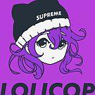 Supreme Lolicop (Dark Orchid / Purple) by Kiranime