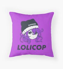 Supreme Lolicop (Dark Orchid / Purple) Floor Pillow