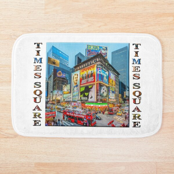 Times Square III Special Finale Edition poster Bath Mat