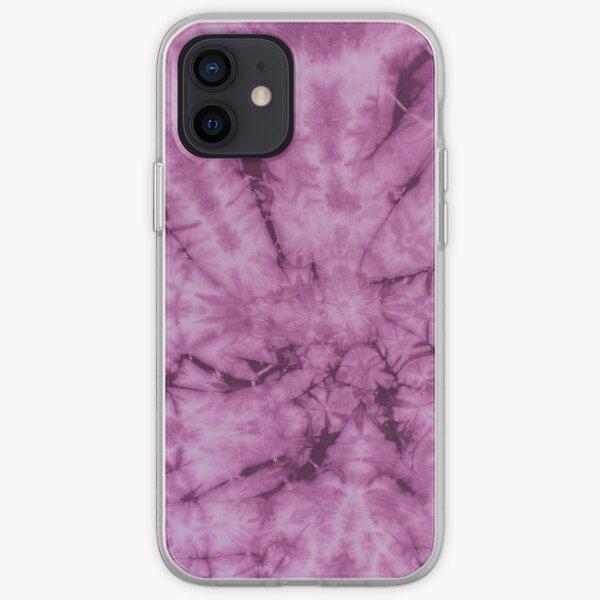 SKU619 Shibori Style - Violet 11 iPhone Soft Case