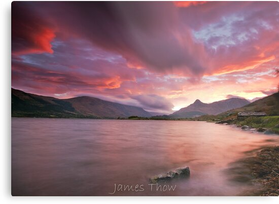 Glencoe sunrise by james  thow