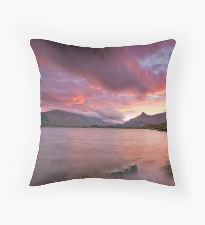 Glencoe sunrise Throw Pillow