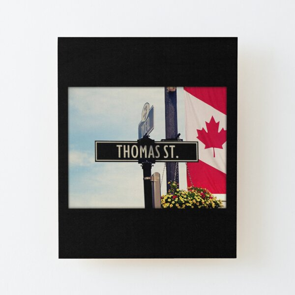 Thomas  Wood Mounted Print