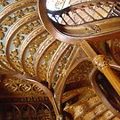 STAIRS in a Historic Bookstore - Oporto, Portugal by TrixiJahn