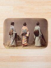 Japanese girls showing Obi Bath Mat