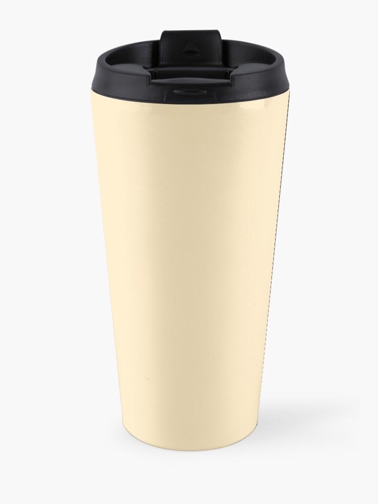 Alternate view of Teacher powered by coffee Travel Mug