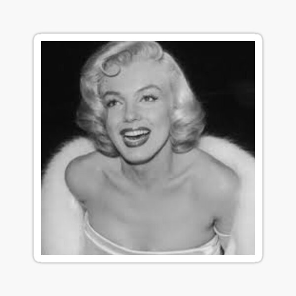 Marilyn Monroe Vintage Pegatina