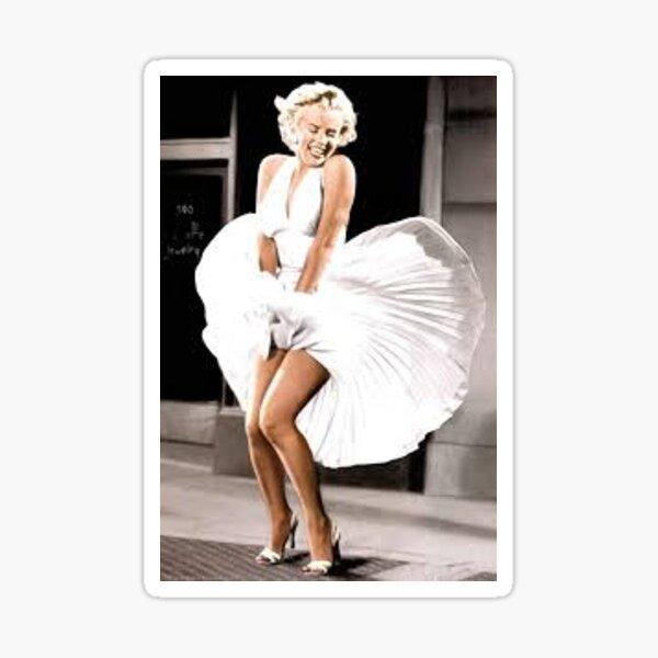 Etiqueta de Marilyn Pegatina