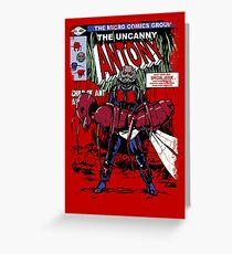 The Uncanny Antony Greeting Card