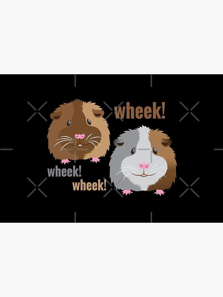 Wheek! Wheek! guinea pigs by jazzydevil