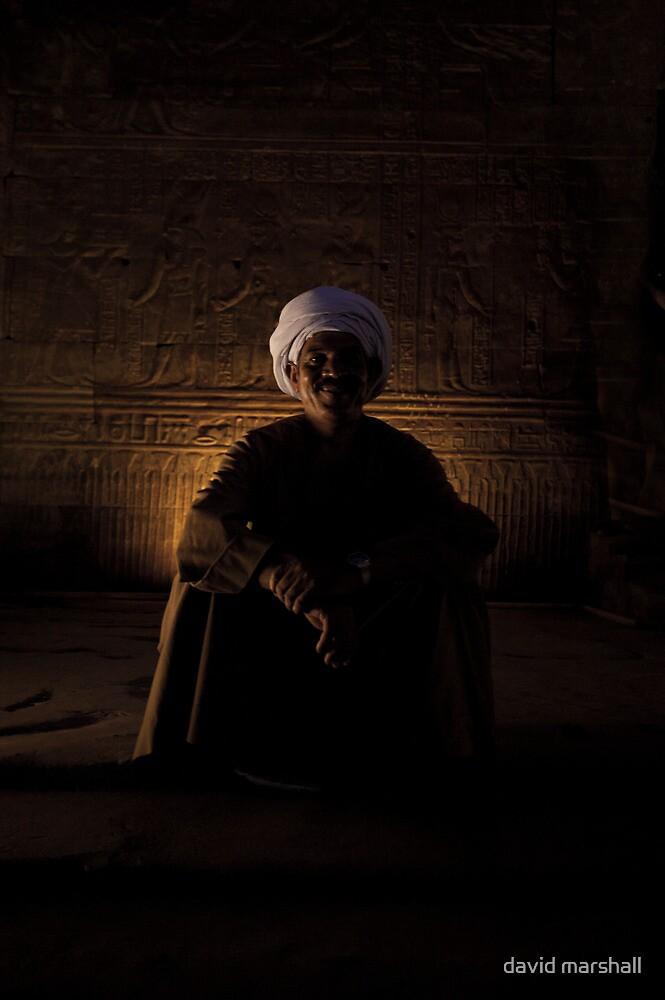 The Temple of Edfu by david marshall