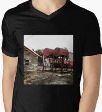 Farm equipment  Men's V-Neck T-Shirt
