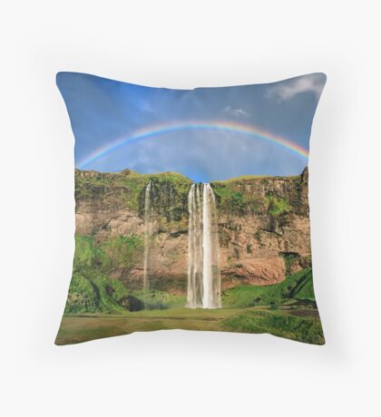 Sing Me A Rainbow Throw Pillow