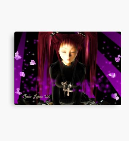 Gothic Girl Canvas Print