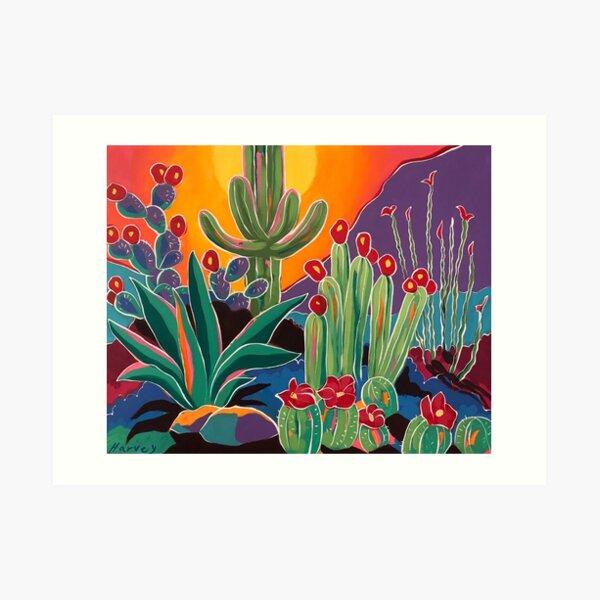Desert Bliss Art Print