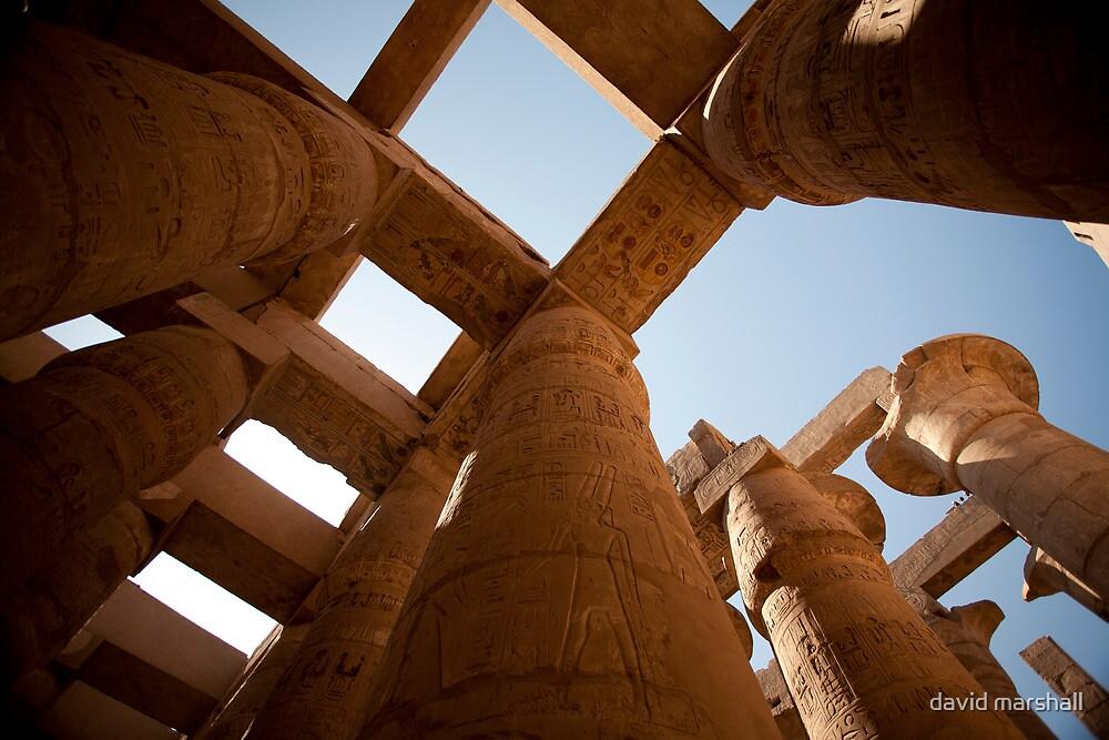 Edfu temple by david marshall
