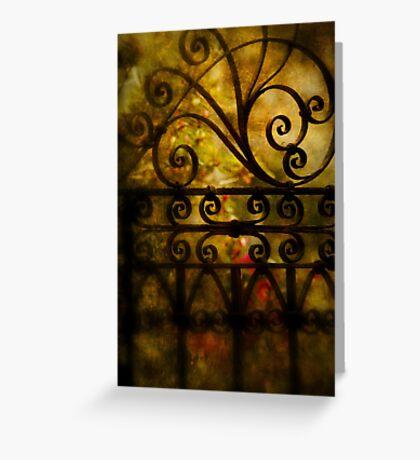 Open that door Greeting Card