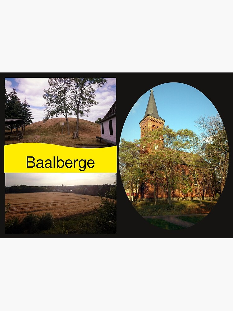 Postkarte Baalberge von Gourmetkater