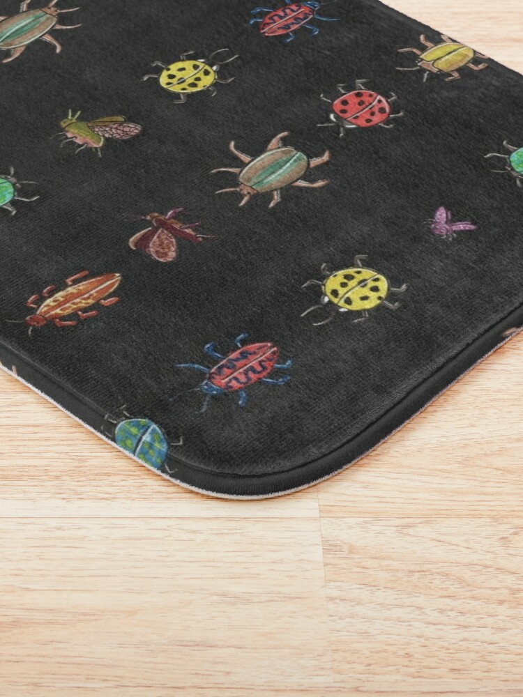 Alternate view of Bugsters - Beetles crawling around Bath Mat