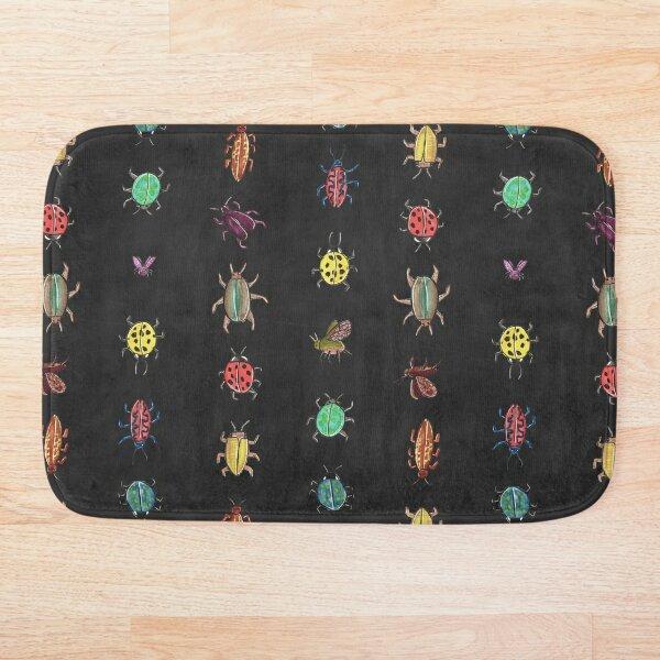 Bugsters - Beetles crawling around Bath Mat