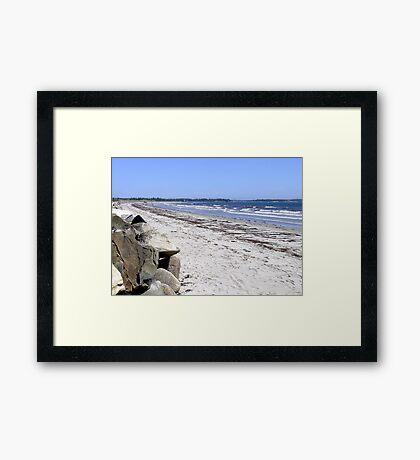 Crescent Beach, North-East Framed Print