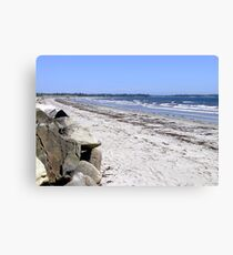 Crescent Beach, North-East Canvas Print