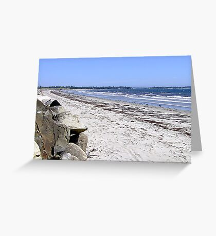 Crescent Beach, North-East Greeting Card