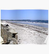 Crescent Beach, North-East Poster
