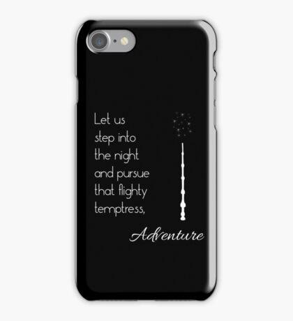 That flighty temptress, adventure (white) iPhone Case/Skin
