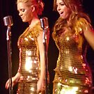 Gold Lame Duet by TonyCrehan