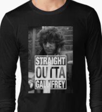 Straight Outta Gallifrey- BAKER T-Shirt