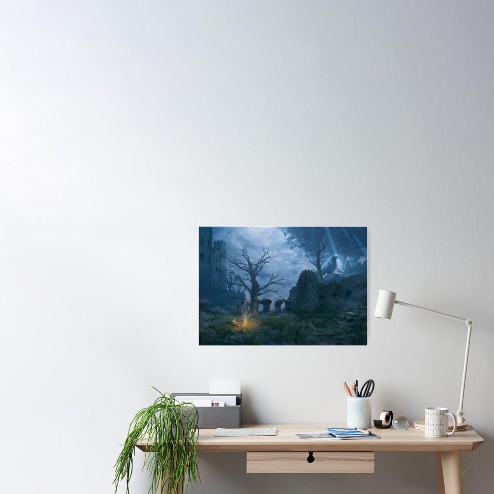 Bonfire (25 Prints Left!) Poster