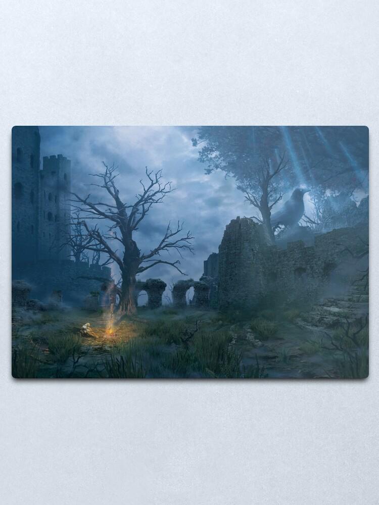 Alternate view of Bonfire (25 Prints Left!) Metal Print