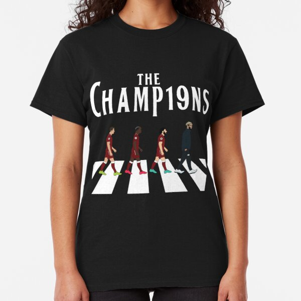 Liverpool, the 2019 Champions (Black) Classic T-Shirt