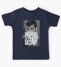 Straight Outta Gallifrey- TENNANT Kids Clothes