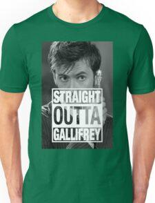 Straight Outta Gallifrey- TENNANT Unisex T-Shirt