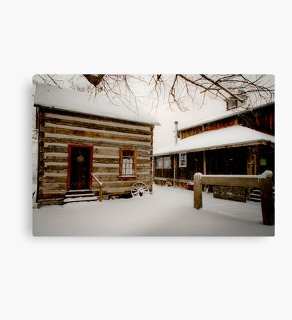Snowbound Canvas Print