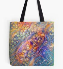DeepDreamed Tote Bag