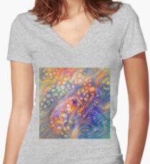 DeepDreamed Fitted V-Neck T-Shirt