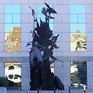 """Reflections In Asheville"" by raindancerwoman"