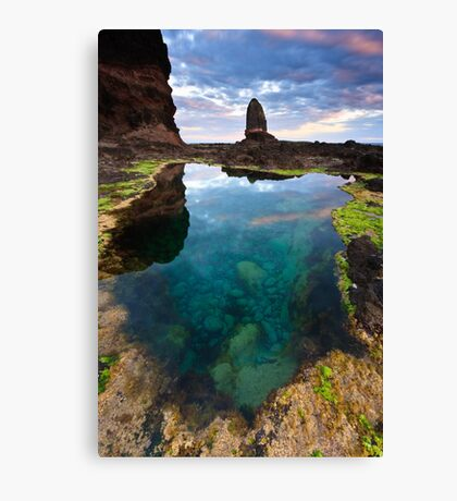 Pulpit Pool Canvas Print