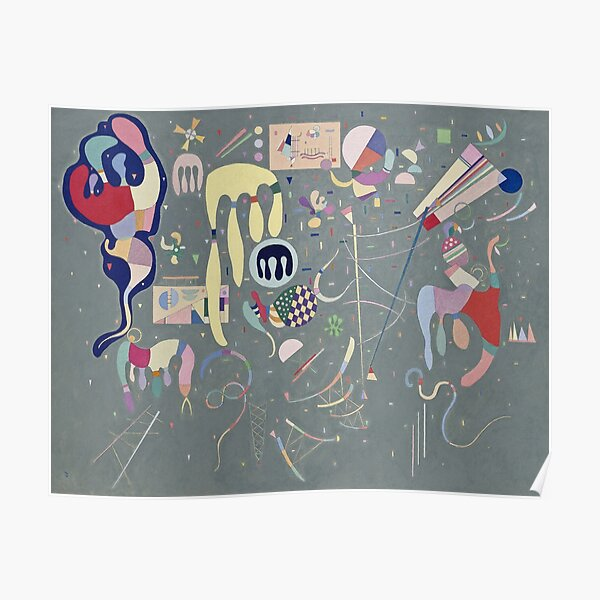 Wassily Kandinsky - Various Actions Poster