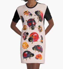 Lady beetles Graphic T-Shirt Dress